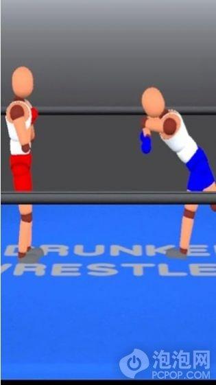 醉拳摔跤双人