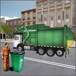 垃圾运输卡车