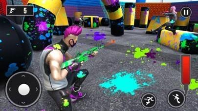 竞技场彩弹射击3D