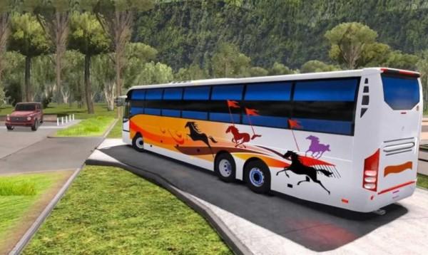 巴士山地驾驶冒险