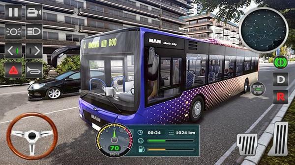 城市公交司机模拟